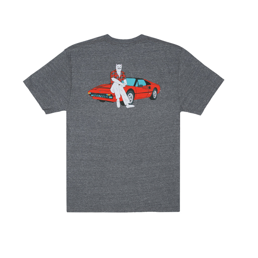 Nermal P.I. Tee (Heather Gray)