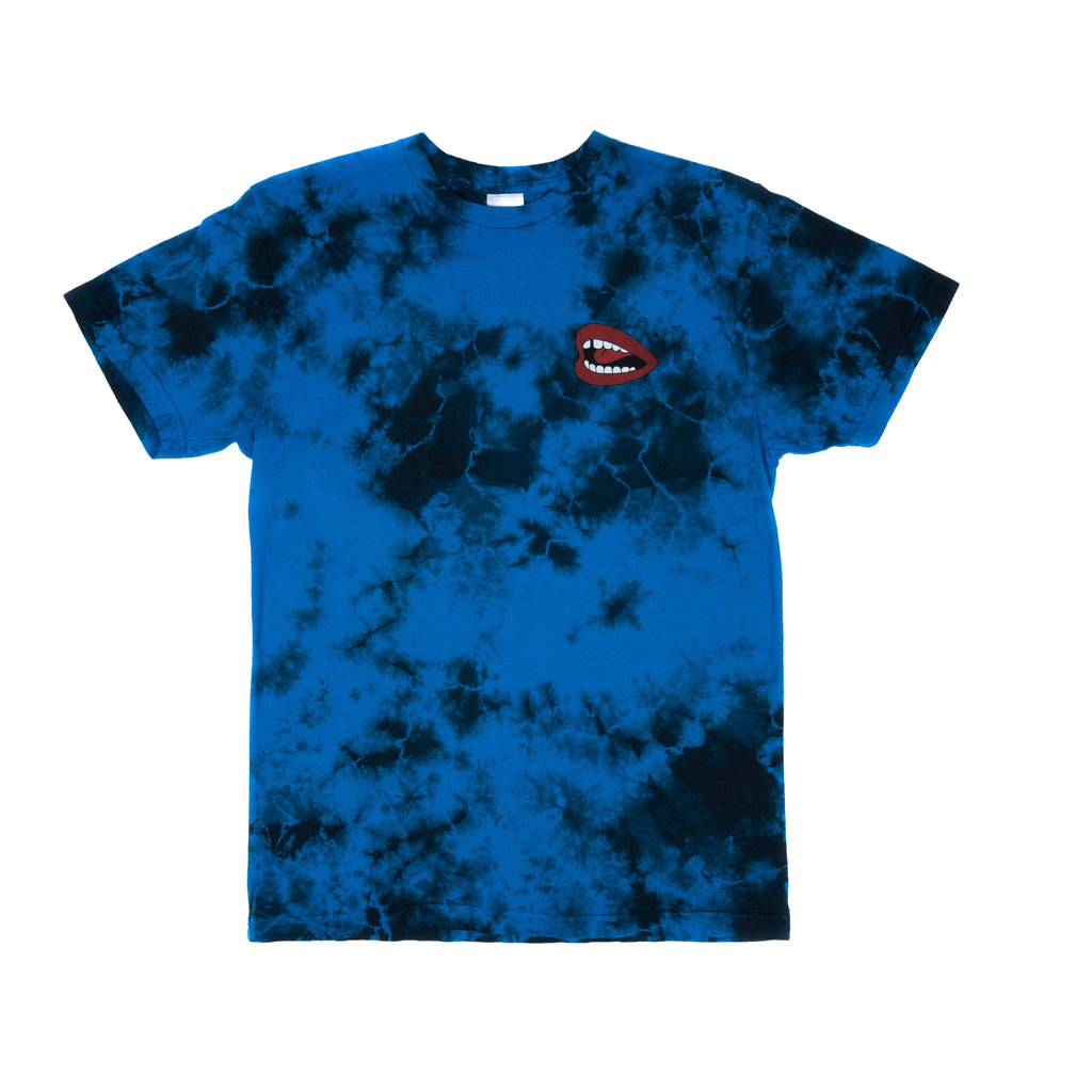 Puff Tee (Royal Cloud Wash)