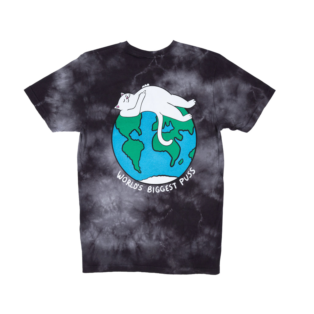 Biggest Pussy Tee (Black Acid Wash)