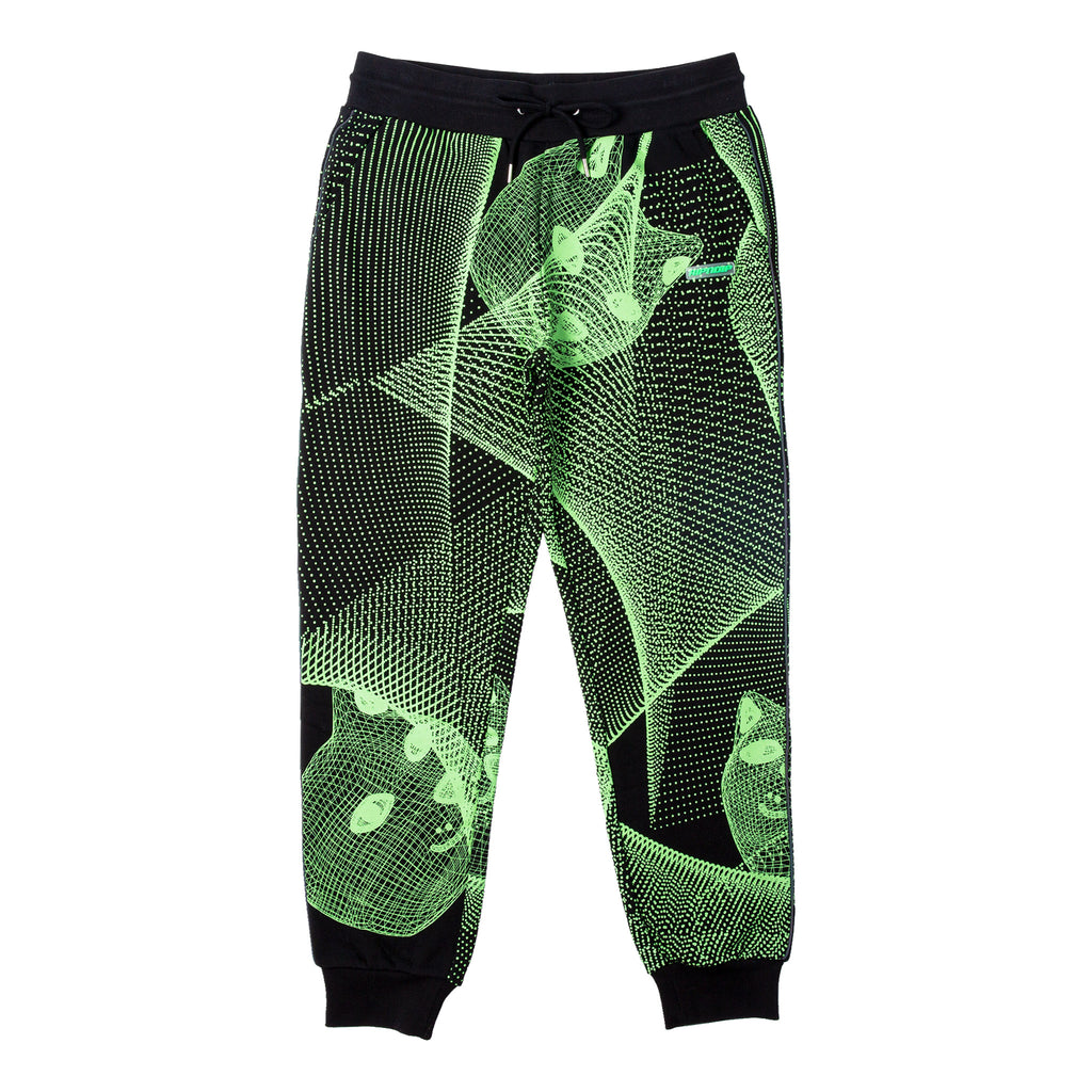 Future Trip Glow In The Dark Sweat Pants (Black)