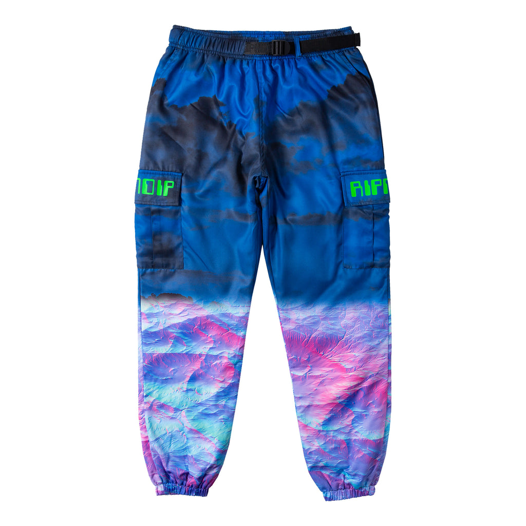 Thermal Nermal Track Pants (Blue)