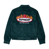 Welcome To Heck Corduroy Jacket (Hunter Green)