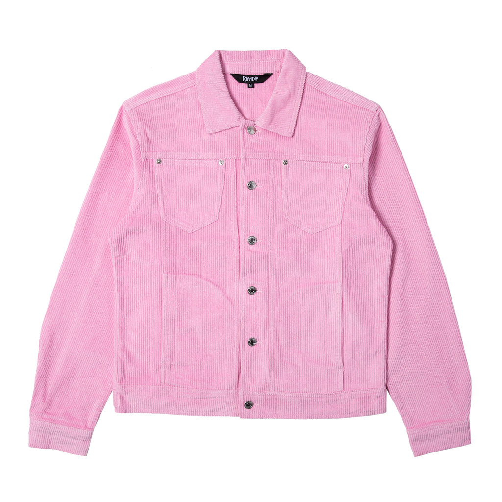 Catch Em All Corduroy Jacket (Pink)