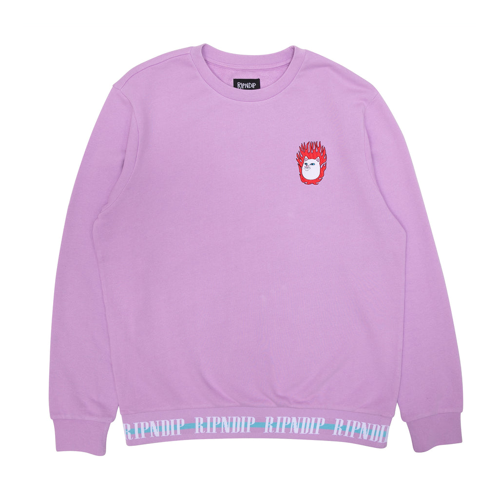Ignite Crewneck Sweater (Lavender)