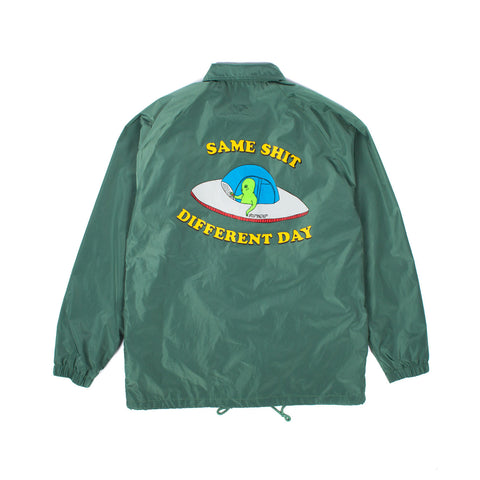 Same Shit Coach Jacket (Green)
