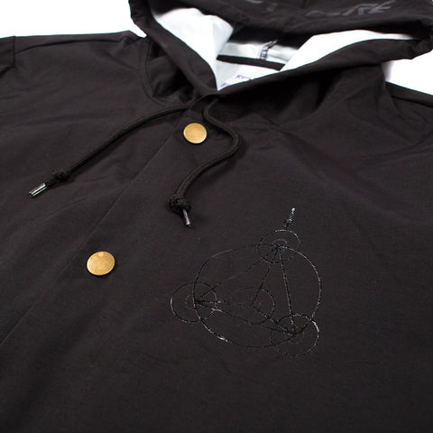 We Out Here Crop Circles Jacket (Black)