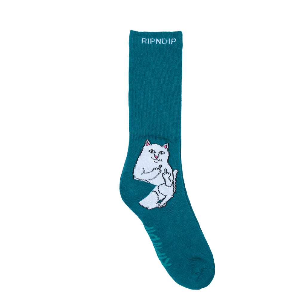 Lord Nermal Socks (Aqua)