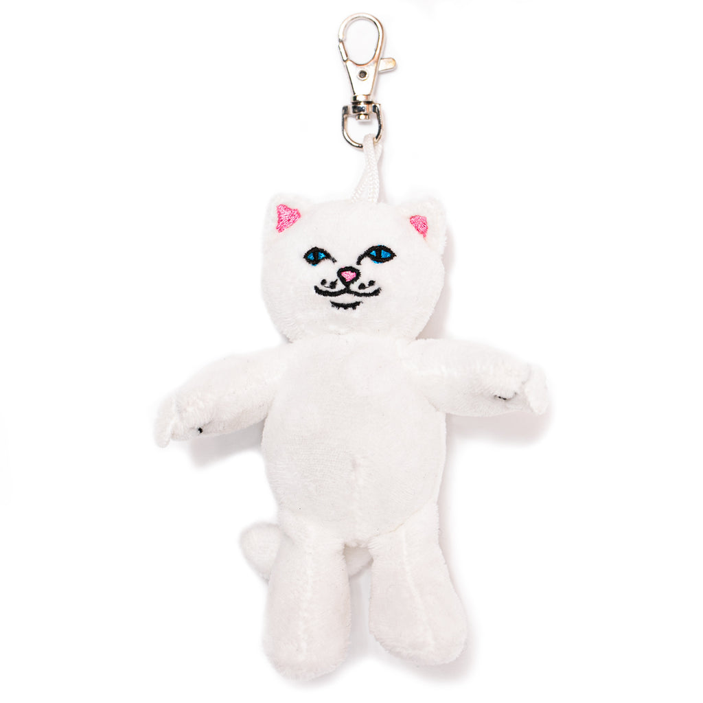 Lord Nermal Plush Keychain (White)