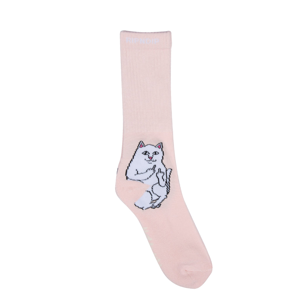 Lord Nermal Socks (Pink)