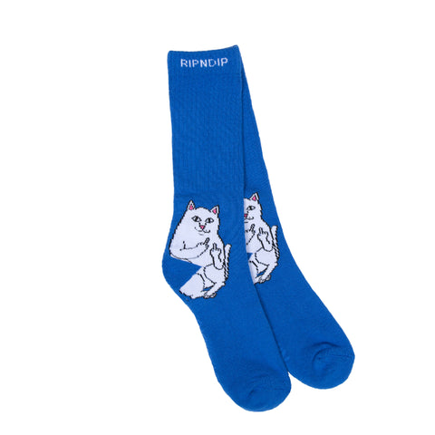 Lord Nermal Socks (Royal)