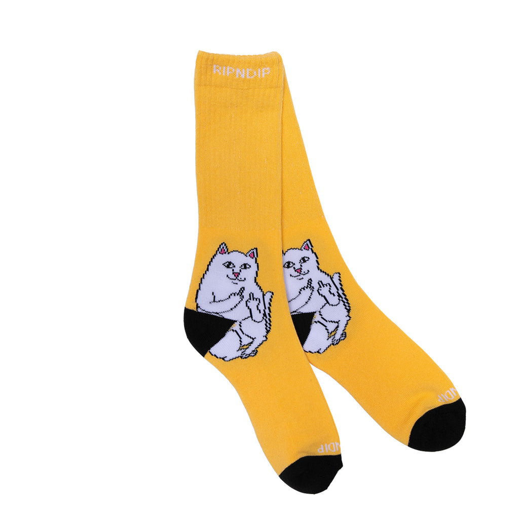 Lord Nermal Socks (Gold)