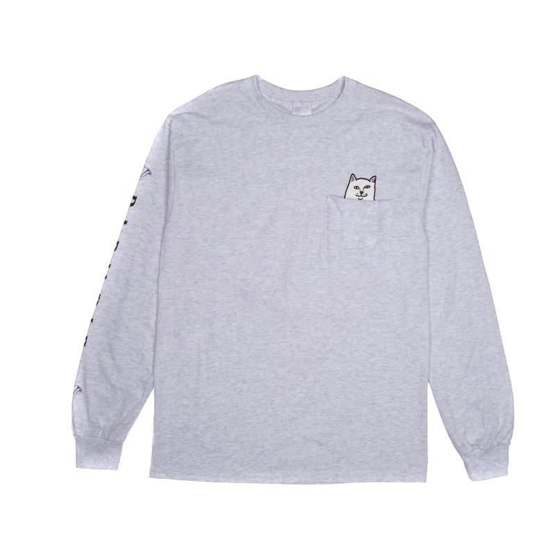 Lord Nermal L/S (Athletic Grey)