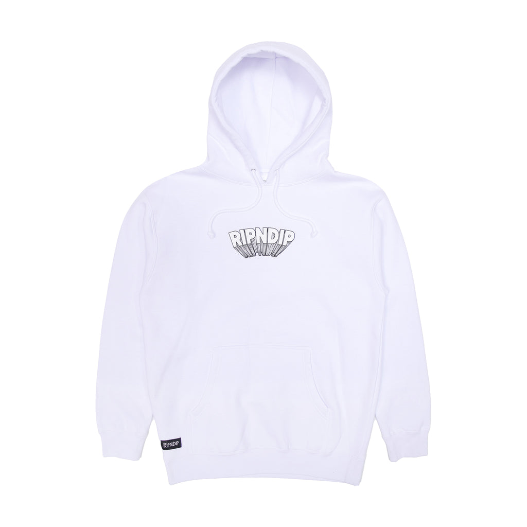 Mind Blown Hoodie (White)