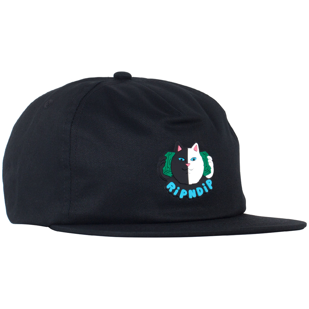 Money Talks 6 Panel Snapback (Black)