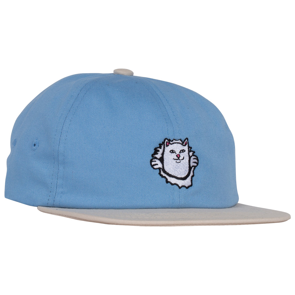 Nermamaniac 6 Panel (Baby Blue / Tan)