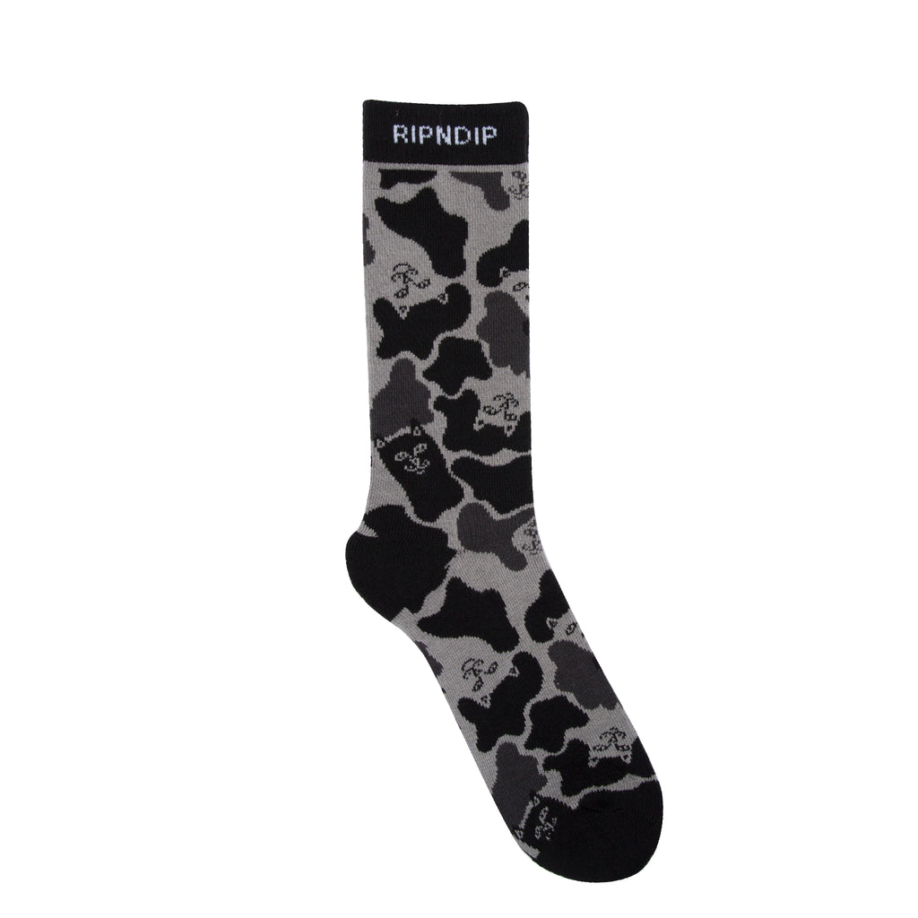 Nerm Camo Socks (Blackout Camo)