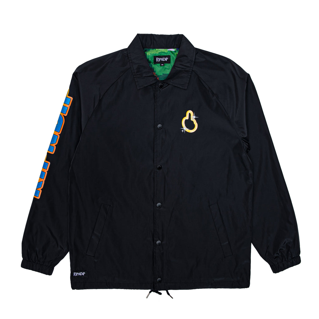 Nermhog Coaches Jacket (Black)