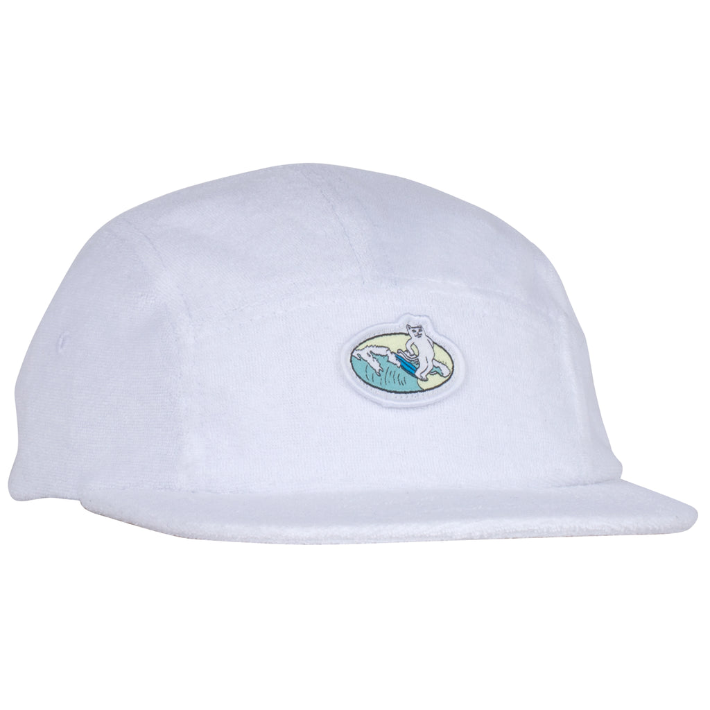Paradise 5 Panel (Terry Cloth White)