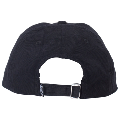 Pill Corduroy Dad Hat (Black)