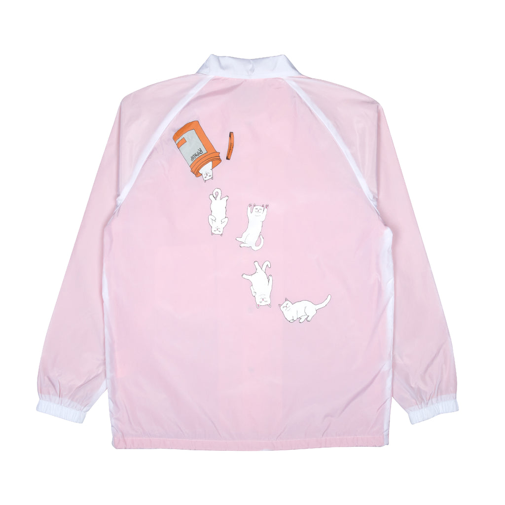 Nermal Pills Coaches Jacket (White)