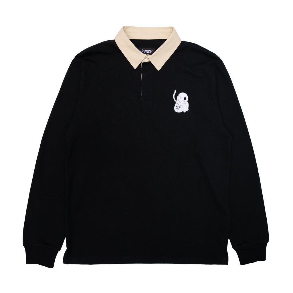 Praise Polo Rugby (Black)