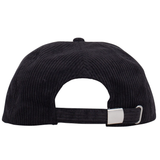 Prisma Corduroy 6 Panel (Black)