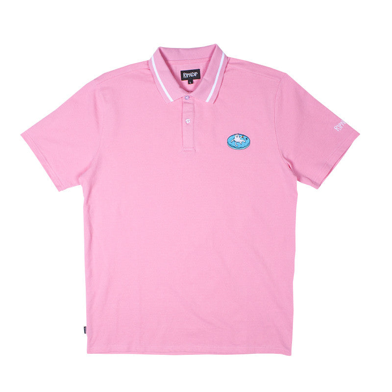 Floating Away Polo (Pink)