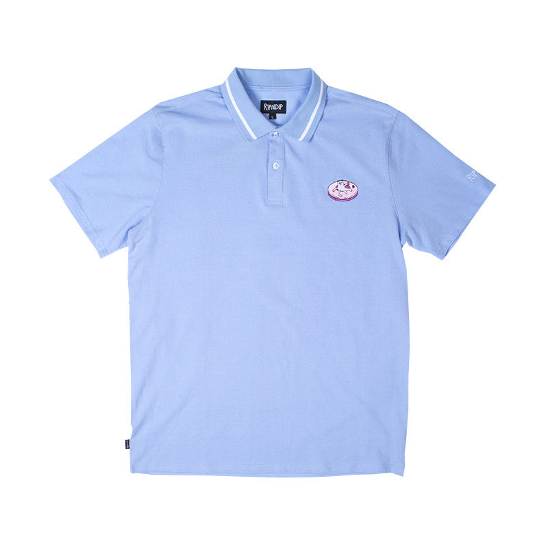 Floating Away Polo (Blue Lavender)