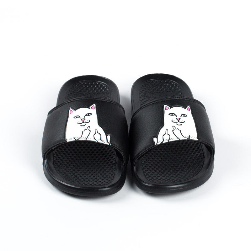 Ripndip Lord Nermal Slides Black Ripndip