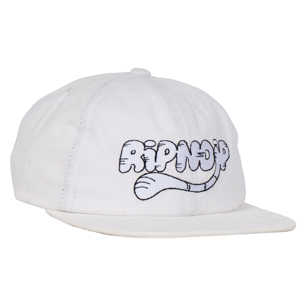 RIPNTAIL Corduroy 6 Panel (White)