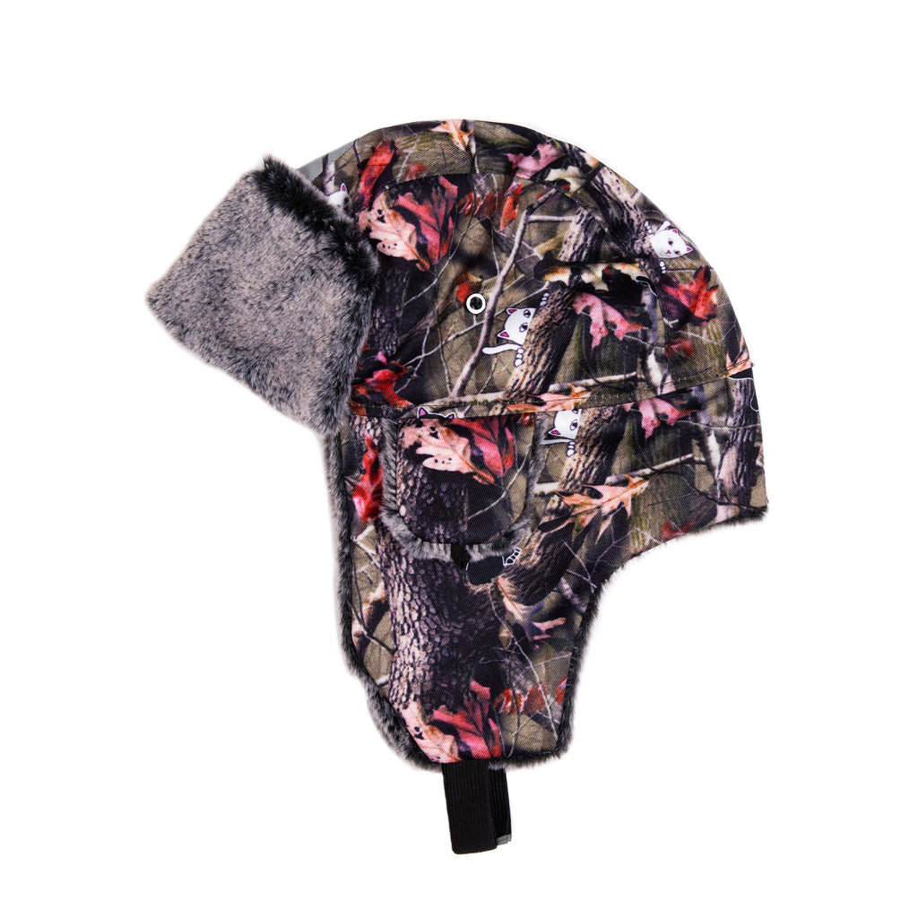Nerm & Jerm Aviator Hat (Tree Camo)