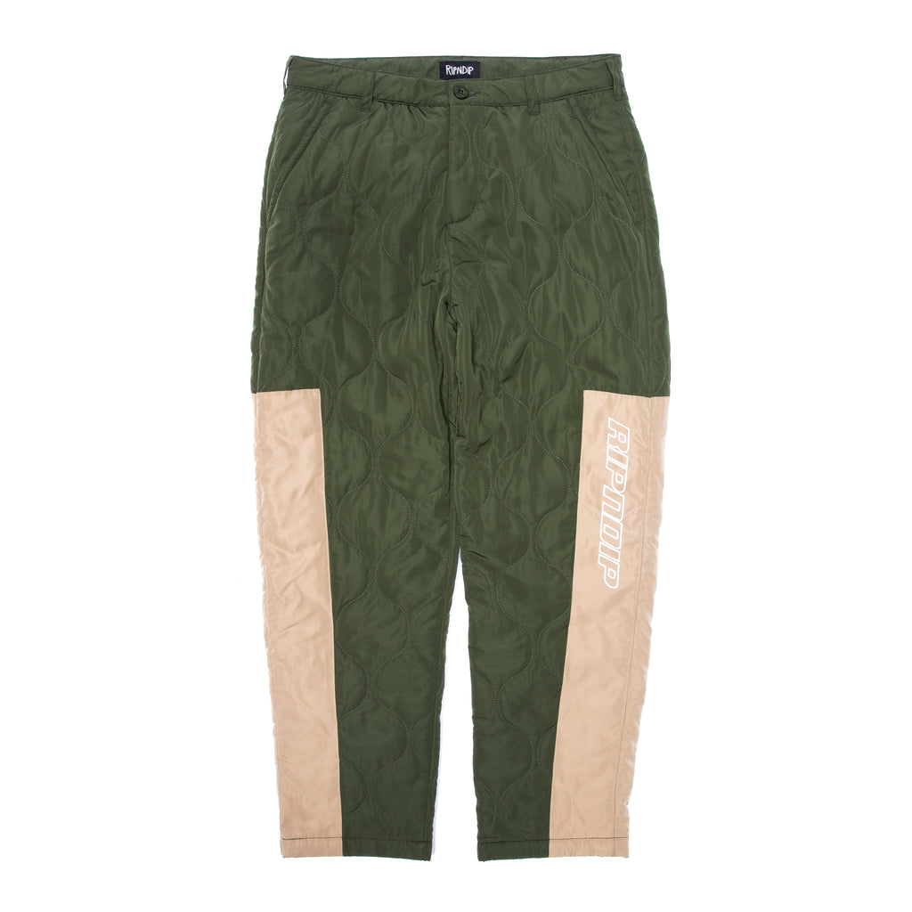 Kyoto Military Pants (Olive / Tan)