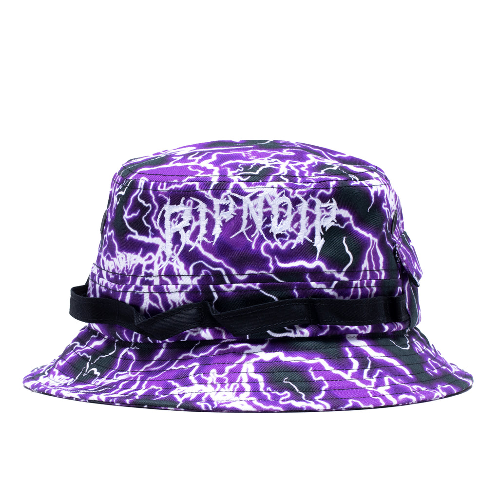 Nikola Boonie Hat (Black / Purple)