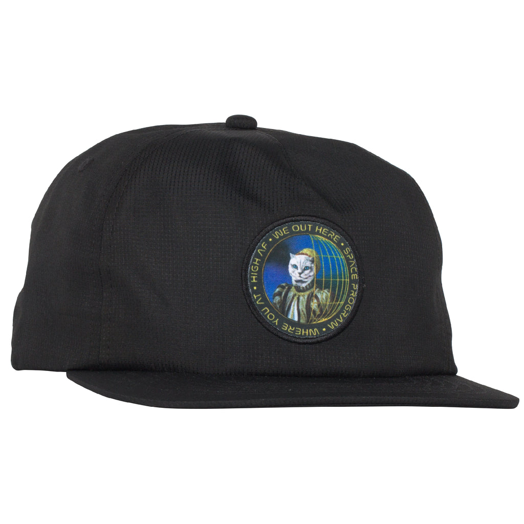 Space Program Mesh Trucker Hat (Black)