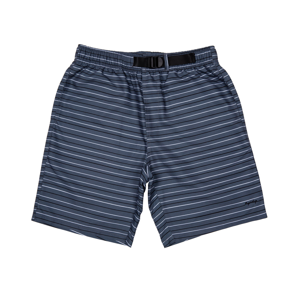 Peek A Nermal Swim Shorts (Grey / Black / White)