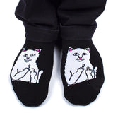Lord Nermal Ankle Socks (Black)