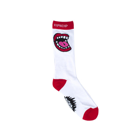Scream Socks (White)
