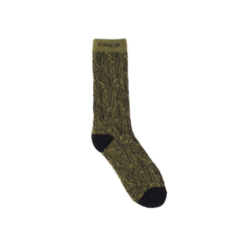Nermal Leaf Socks (Green)