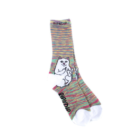 Lord Nermal Socks Neon