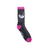 Falling For Nermal Socks (Pink Knit)