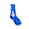 Catfish Socks (Blue Tie Dye)