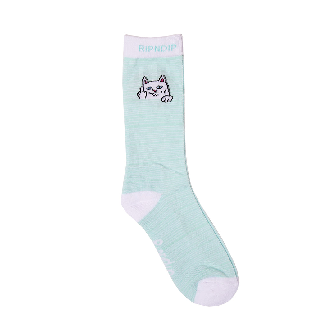 Peek A Nermal Socks (Mint)
