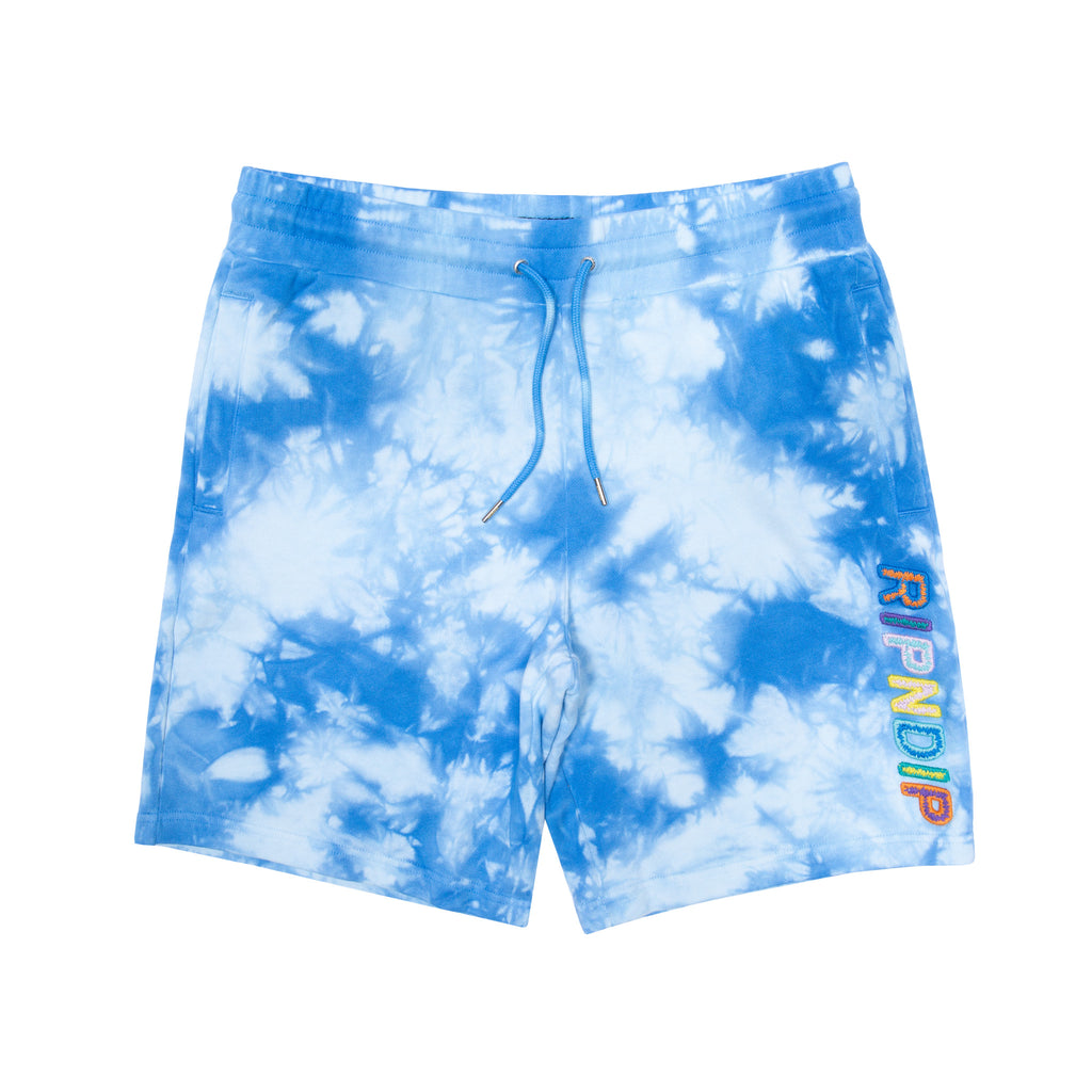 Prisma Sweatshorts (Blue Lightning Wash)
