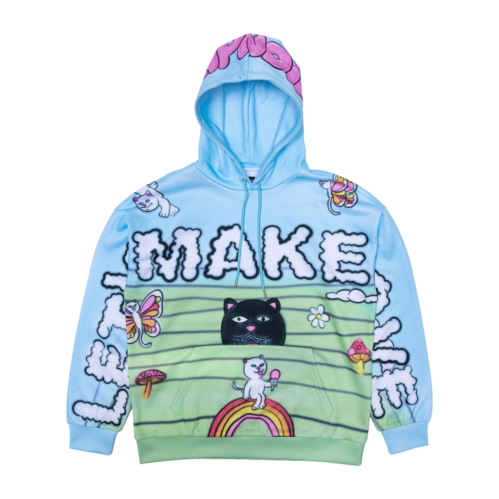 Lets Make Love Hoodie (Multi)