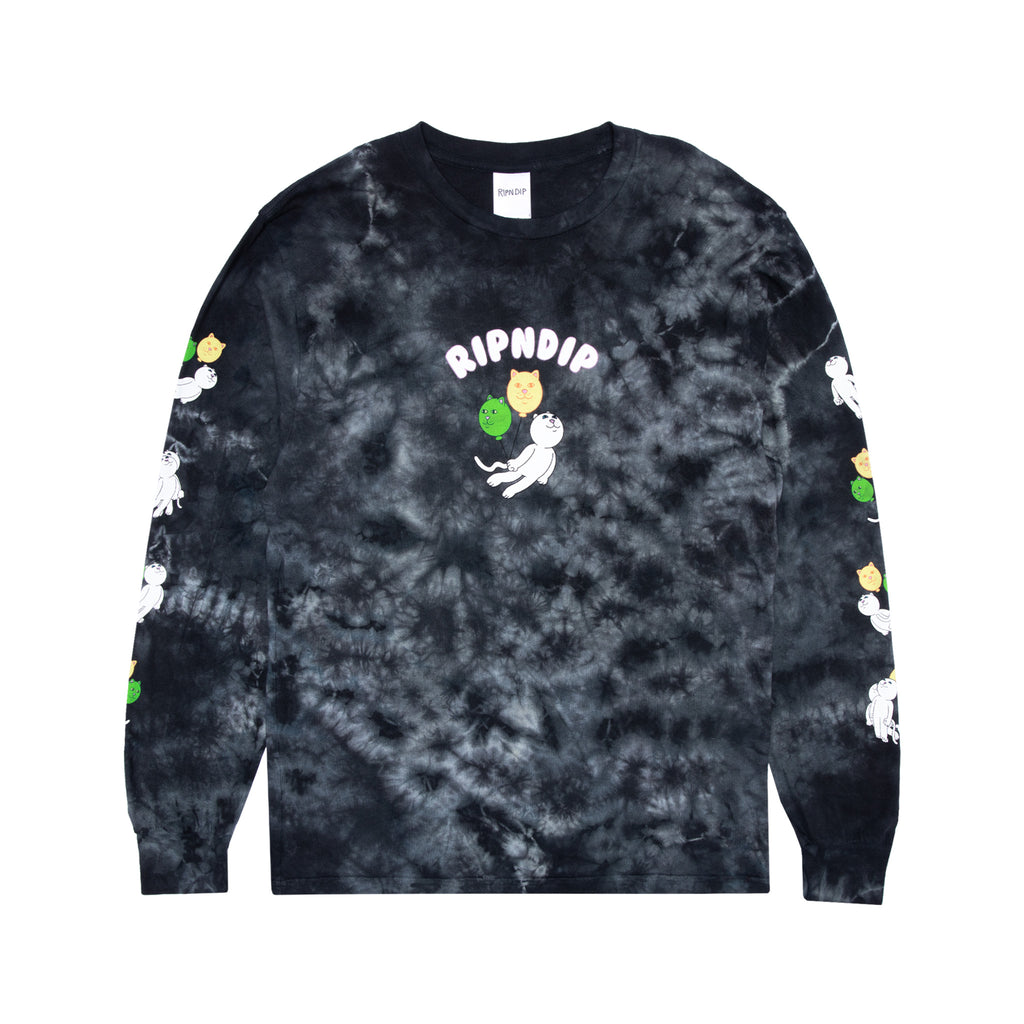 Drifting Away Long Sleeve (Black Lightning Wash)
