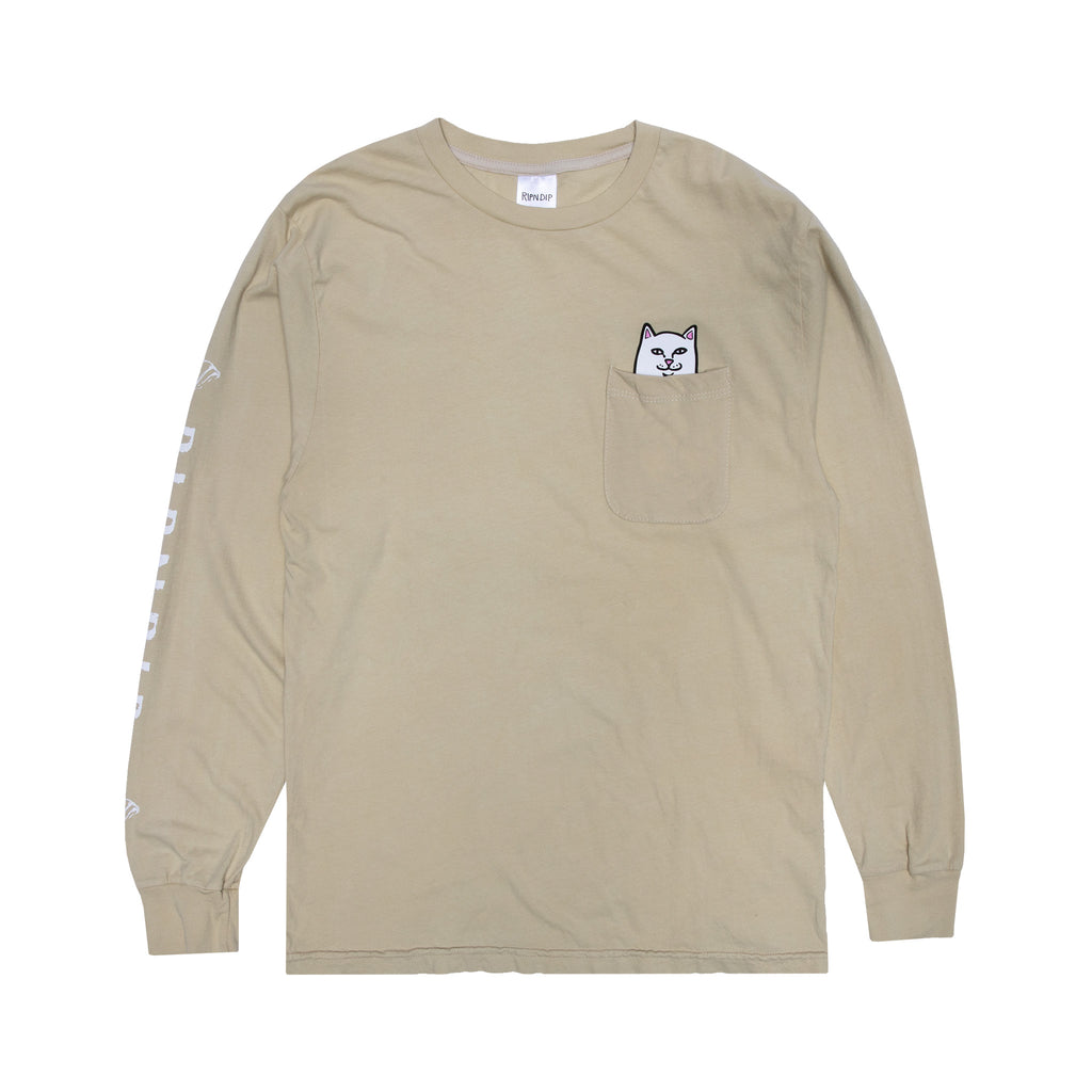 Lord Nermal Pocket Long Sleeve (Tan)
