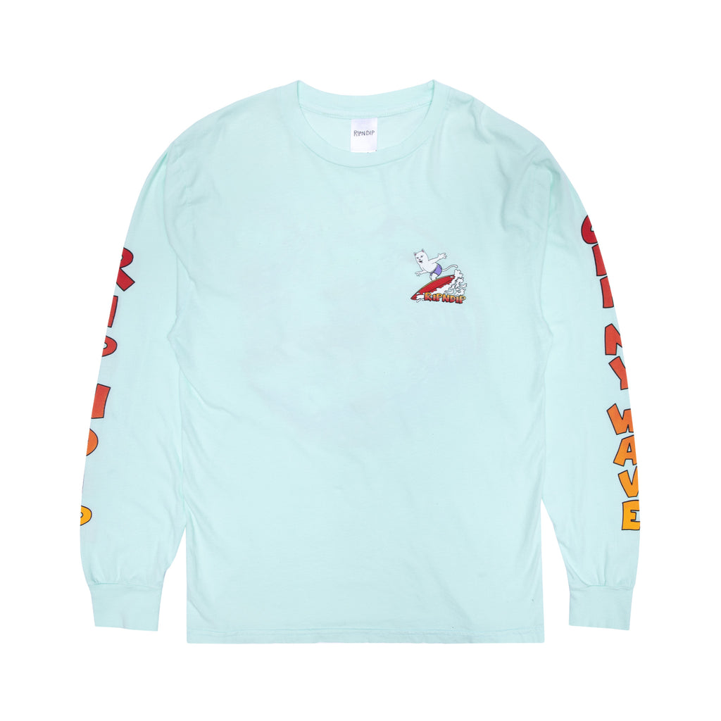 Off My Wave Long Sleeve (Aqua)