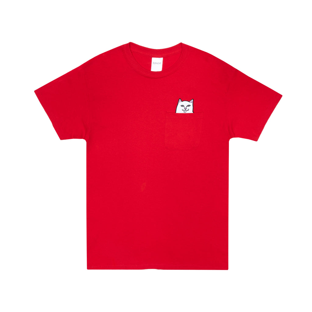 Lord Nermal Pocket Tee (Red)