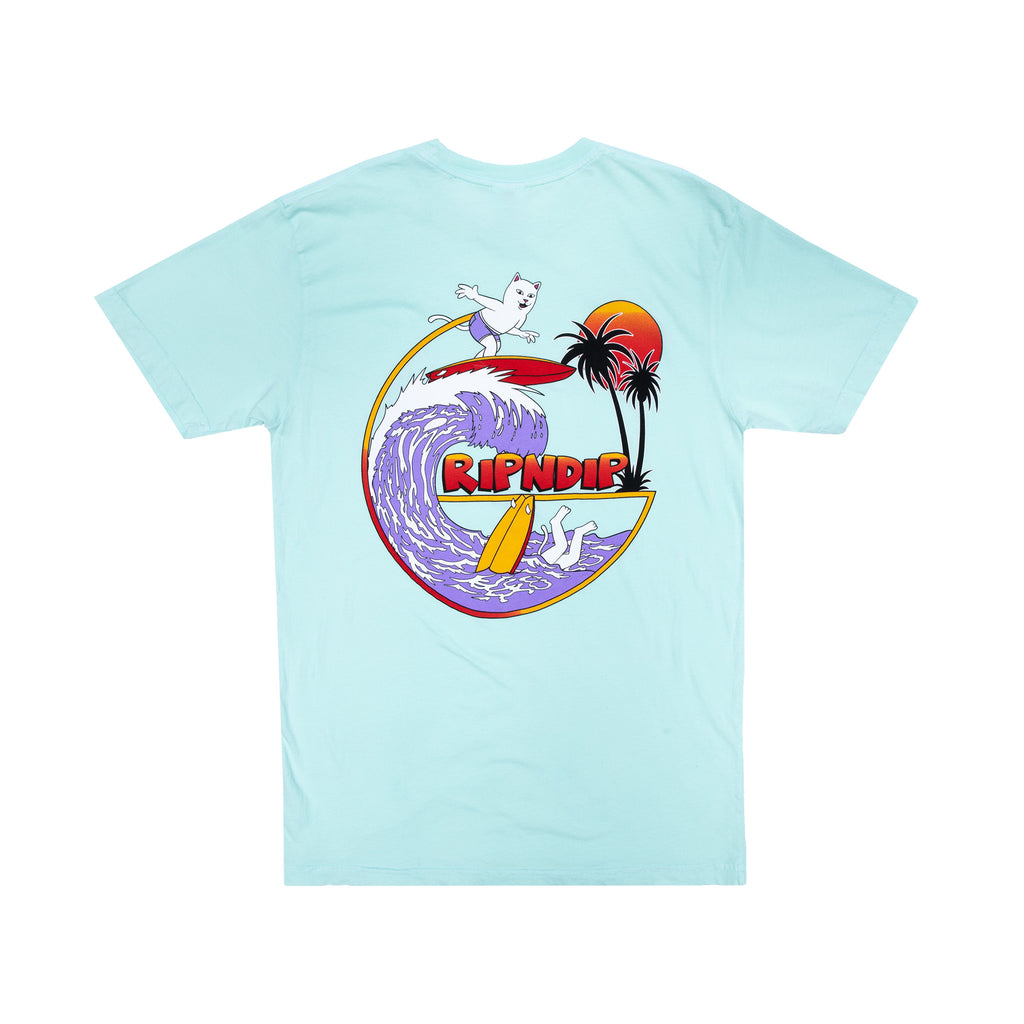 Off My Wave Tee (Aqua)