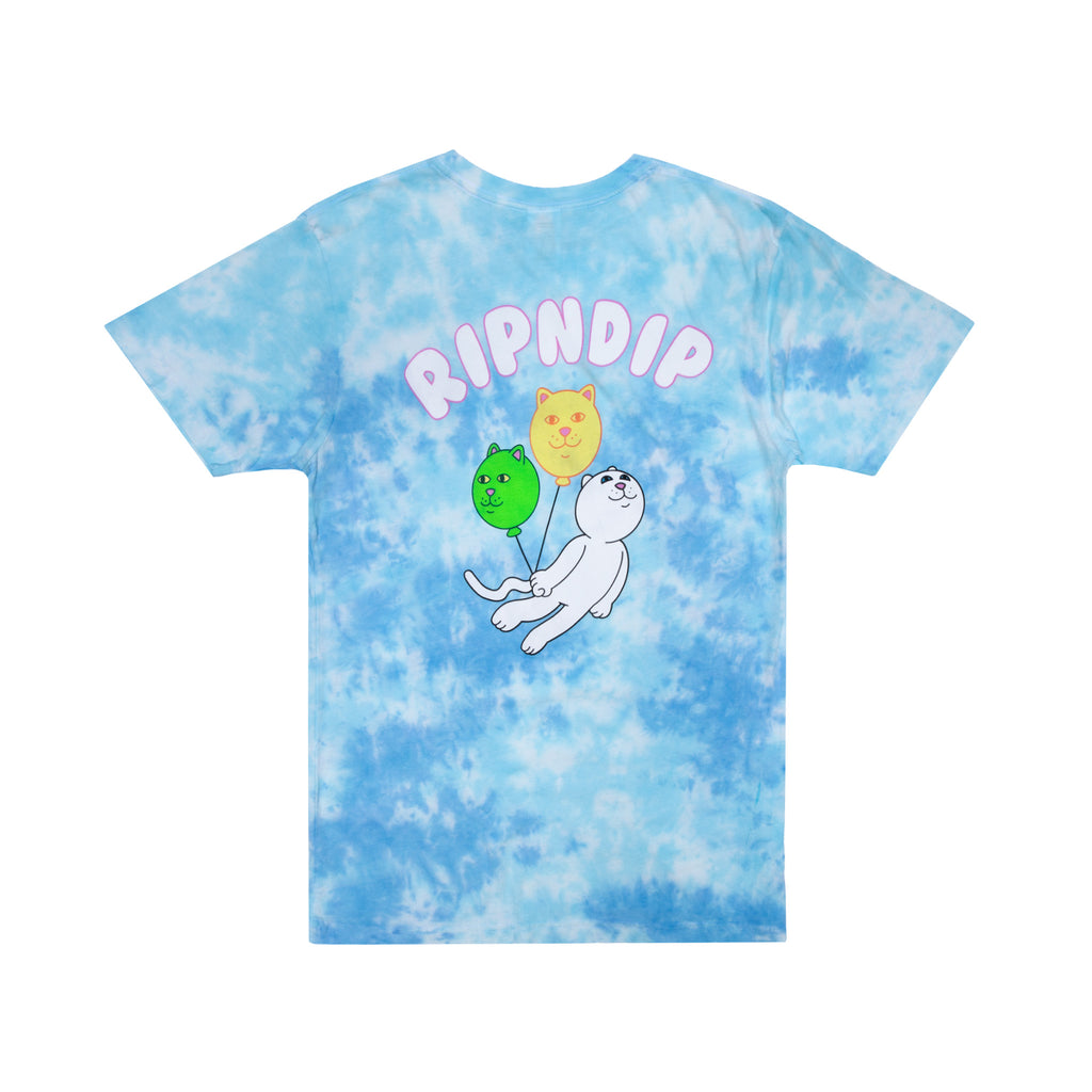 Drifting Away Tee (Blue Tie Dye)